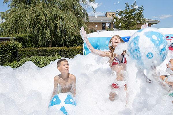Opblaasbare schuim bubble parken kopen voor kinderen