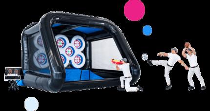 Interactive PlaySystems; Interactieve Opblaasbare Spellen Kopen voor al je inflatables. Exclusief van JB Inflatables