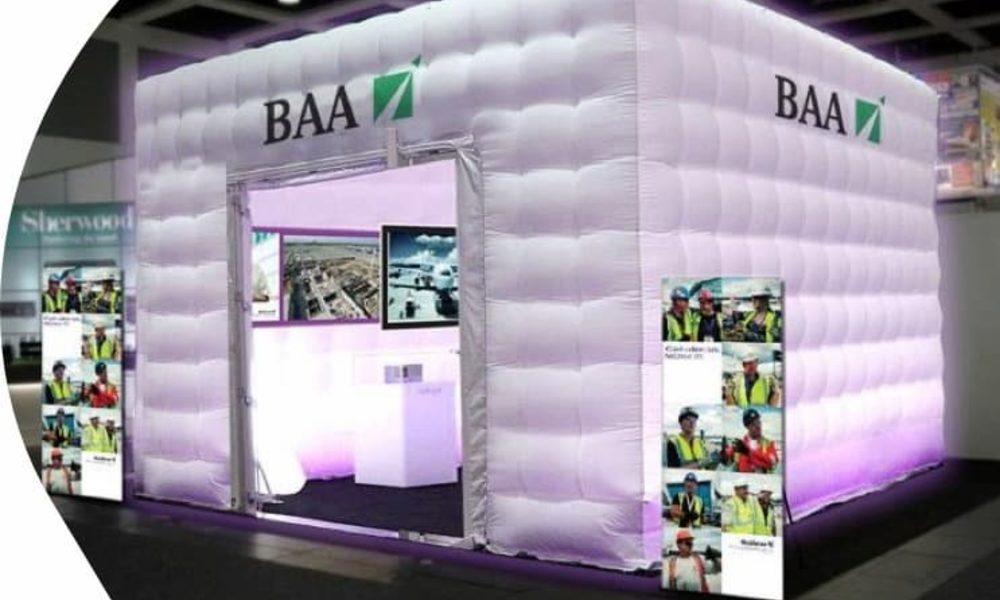 JB Promotions van JB Inflatables; De maatwerk specialist voor opblaasbare beursstands, reclame artikelen en promotiematerialen op maat gemaakt