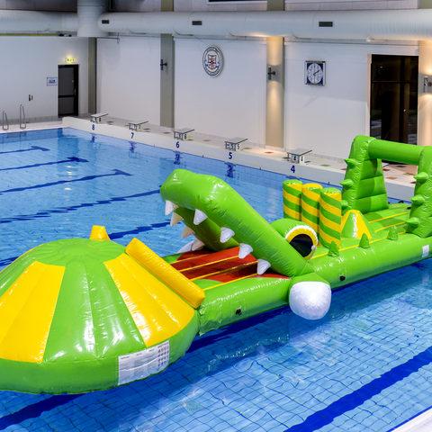 Krokodil Slide Zwembad