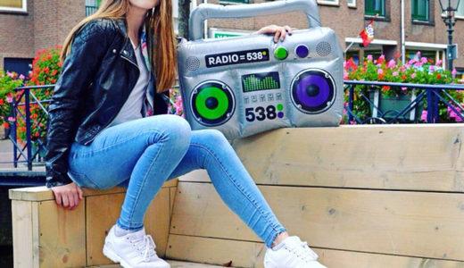 538 inflatable radio