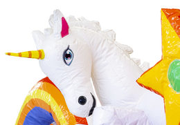 springkussen slidebox unicorn