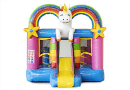 Mini Bounce Unicorn vooraanzicht