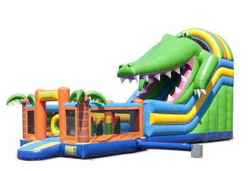 4in1glijbaan krokodil