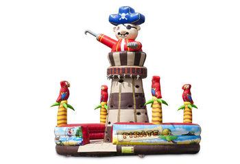 Opblaasbare Klimtoren Piraat