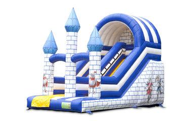 Opblaasbare glijbaan kasteel