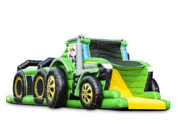 tractor run 17,5m
