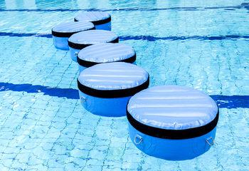 Opblaasbare spring objecten zwembad
