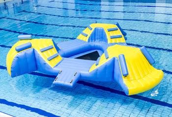 Opblaasbaar zwembad speeleiland