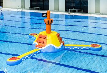 Zwembad speeleiland Piraat