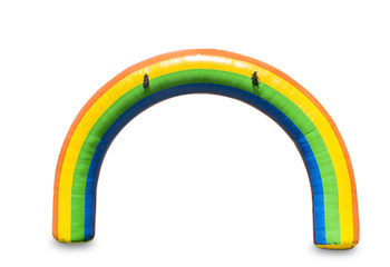 Opblaasbare 6x4m regenboog start & finishboog bestellen voor sport evenementen. Koop nu standaard opblaasbare start & finish bogen online bij JB Inflatables Nederland