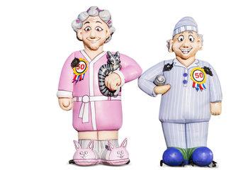 Opblaasbare Sarah en Abraham Pyjama
