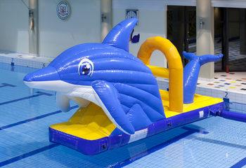 Zwembadglijbaan Dolfijn