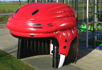 Spelerstunnel hockey_helm
