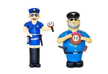 Politie Sarah en Abraham set