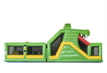 Modulaire Stormbaan 13,5m Krokodil zijaanzicht