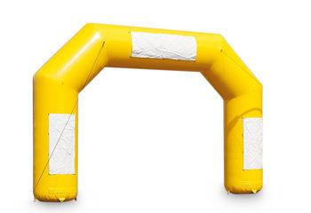 Opblaasbare start & finish boog in het geel kopen bij JB Inflatables Nederland. Bestel nu de standaard reclame bogen online bij JB Inflatables Nederland