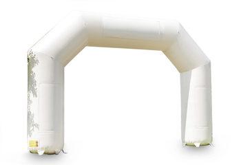 Opblaasbare start & finish boog in het wit kopen bij JB Inflatables Nederland. Bestel nu de standaard reclame bogen online bij JB Inflatables Nederland
