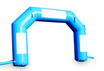 Koop online start & finish bogen in het blauw bij JB Inflatables Nederland. Alle standaard opblaasbare bogen worden razendsnel geleverd