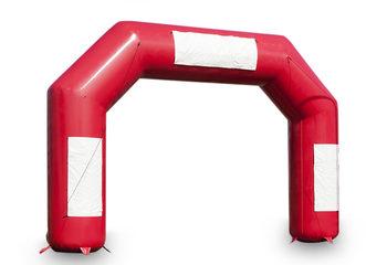 Koop opblaasbare start & finish bogen in het rood direct online bij JB Inflatables Nederland. De standaard bogen passen uitstekend bij sportevenementen