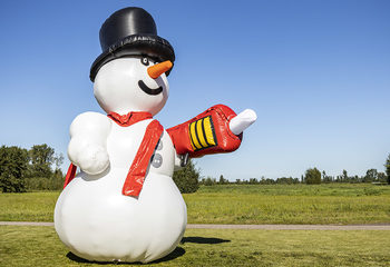 Bubble special snowman