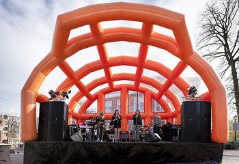 Mobiel podium op maat Veenendaal
