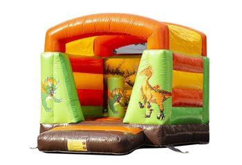 Klein springkussen kopen in thema dino voor kinderen. Bestel springkussens online bij JB Inflatables Nederland