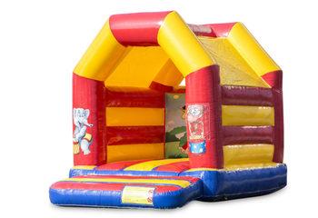 Midi springkussen kopen in circus thema voor kinderen. Bestel springkussens online bij JB Inflatables Nederland
