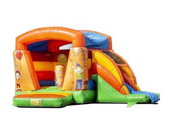 Klein multifun springkussen overdekt kopen in feest thema voor kinderen. Koop springkussens online bij JB Inflatables Nederland