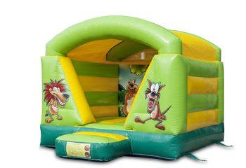 Mini overdekt jungle thema springkussen voor kids kopen. Bestel nu springkussens online bij JB Inflatables Nederland