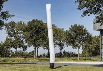 Opblaasbare skytube 6m in het wit kopen bij JB Inflatables Nederland. Alle standaard opblaasbare airdancers worden razendsnel geleverd