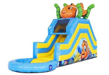 Multifunctioneel Seaworld waterglijbaan springkussen kopen bij JB Inflatables Nederland. Bestel springkussens online bij JB Inflatables Nederland