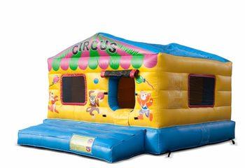 Opblaasbare overdekte play fun ballenbak springkussen kopen in thema circus voor kinderen. Bestel springkussens online bij JB Inflatables Nederland