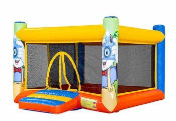 Opblaasbare overdekt play fun vierkante ballenbak springkussen kopen voor kinderen. Bestel springkussens online bij JB Inflatables Nederland