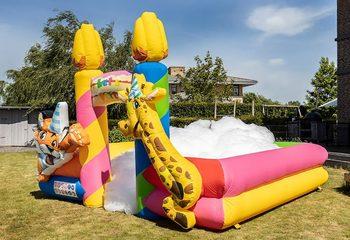 Opblaasbare schuim bubble park in thema party kopen voor kids