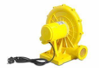 Blower 450 watt kopen voor opblazen inflatable springkussen van JB