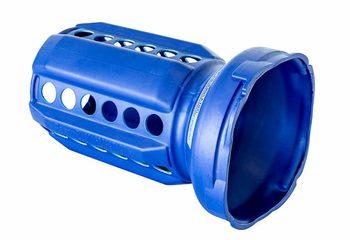 Blauwe deflator blower te koop voor opblazen inflatable springkasteel