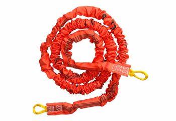 Bungee run elastiek kopen als accessoires voor springen rennen actie op inflatable opblaasbaar springkussen