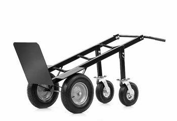 handige steekwagen zwart met vier wielen kopen voor inflatables