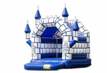 Klein overdekt springkussen bestellen in thema kasteel voor kinderen. Koop springkussens online bij JB Inflatables Nederland