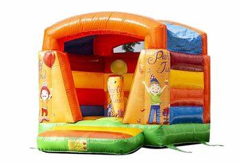 Klein opblaasbaar overdekt springkasteel kopen in thema feest voor kinderen. Bestel springkastelen online bij JB Inflatables Nederland