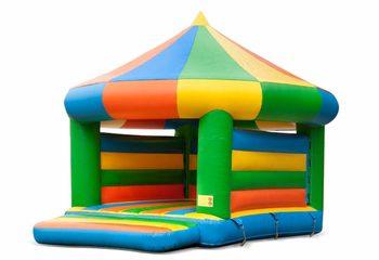 Carrousel springkasteel kopen in standaard thema voor kinderen. Bestel springkastelen online bij JB Inflatables Nederland