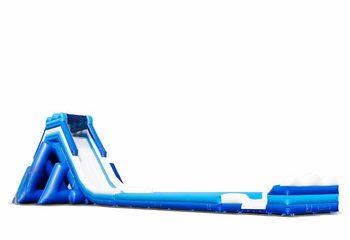 Opblaasbare giga glijbaan van 11 meter hoog met badje kopen voor kinderen