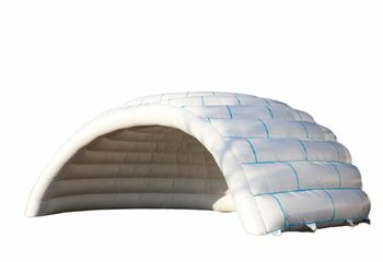 Opblaasbare witte Iglo tent kopen