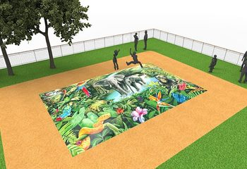 Inflatable springberg in jungle thema kopen voor kinderen