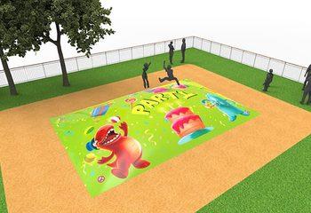 Inflatable springberg in party thema kopen voor kinderen