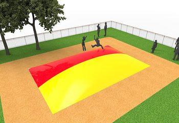 Inflatable springberg in kleur rood geel kopen voor kinderen