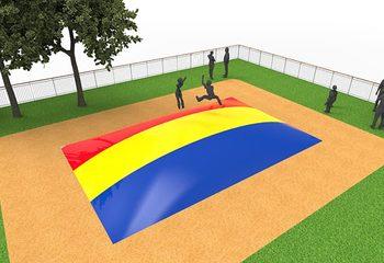 Inflatable springberg in kleur rood geel blauw kopen voor kinderen