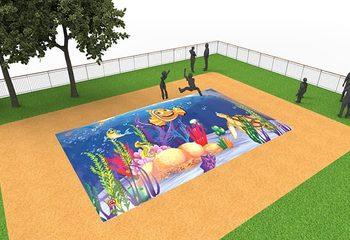 Inflatable springberg kopen in seaworld thema voor kinderen
