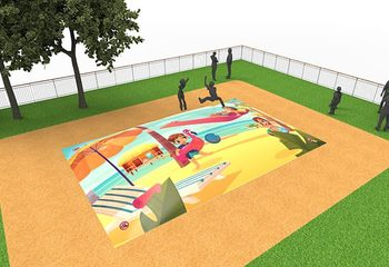 Inflatable springberg kopen in zandbak thema kopen voor kinderen